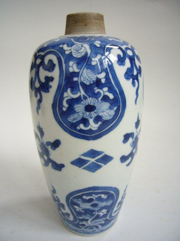 A Very Fine Chinese Kangxi Blue & White Vase