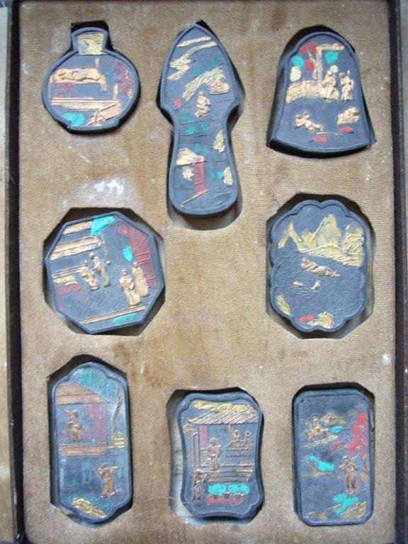 Collection of Antique Chinese Ink Cakes