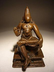 Indian Bronze Rama 16th Century