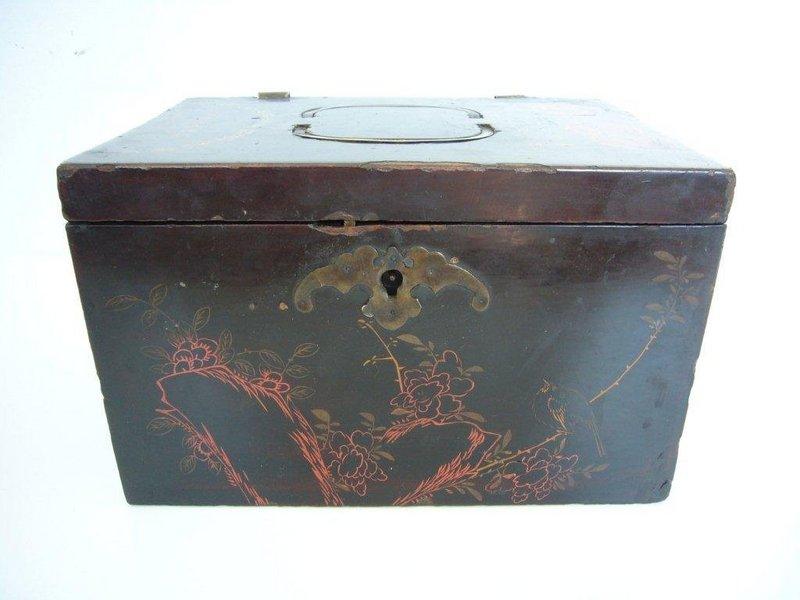 Rare Chinese Opium Travel Box Late Qing