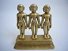 Indian Jain Bronze Group