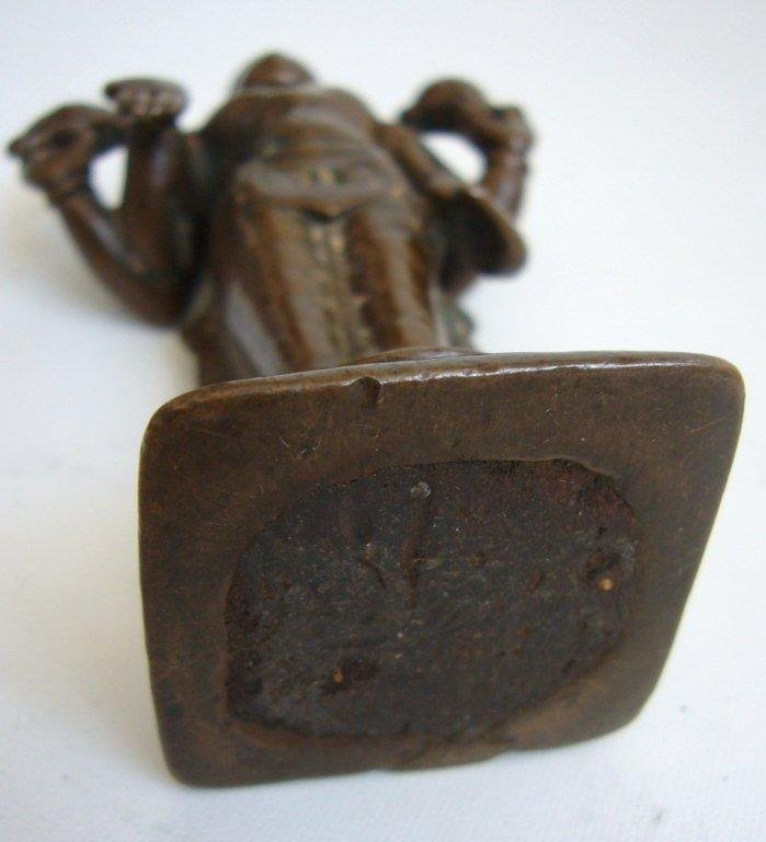 South Indian Bronze Vishnu 16th Century