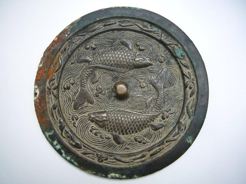 Song Dynasty Bronze Mirror
