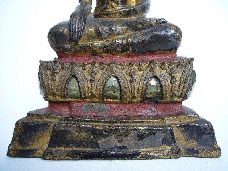 Thai Bronze Ayutthaya Buddha 18th century