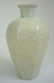 Song Qingbai Octagonal Vase