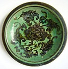 Rare Green Song Cizhou Saucer