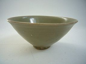 Song Dynasty Fluted Yaozhou Bowl