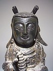 Chinese Ming Dynasty Bronze Female Dignitary