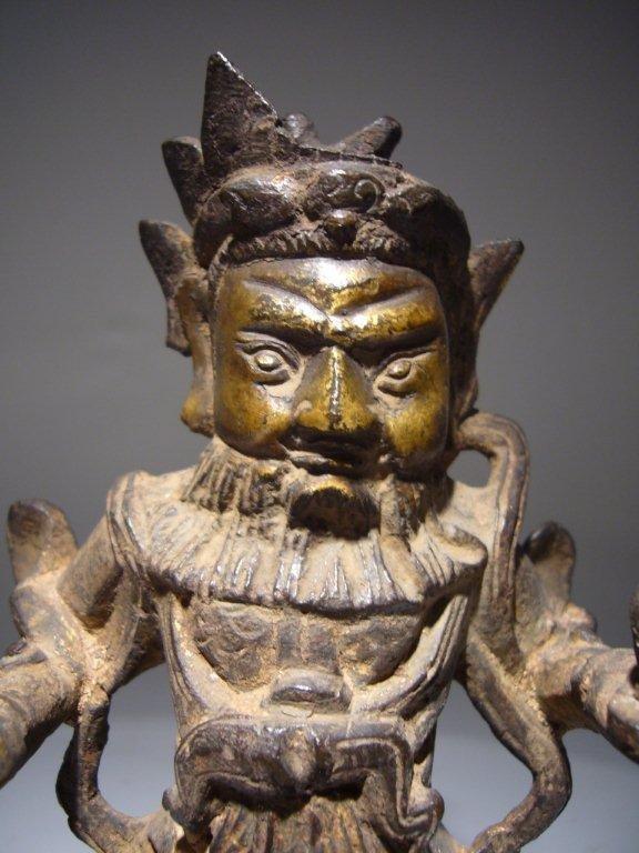 Chinese Ming Dynasty Bronze Deity