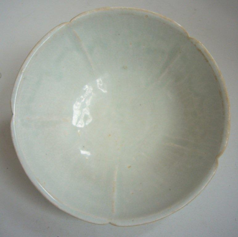 Song Qingbai Lobed Bowl