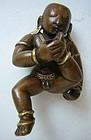 Indian Bronze Baby Krishna from Orissa