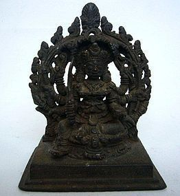 Indian Kerala Bronze Deity 14th/15th Century