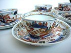 Japanese Imari Cups and Saucers Ca. 1700