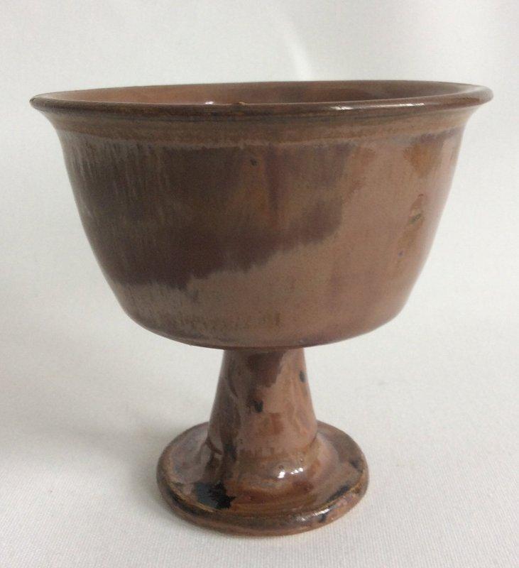 Henan Blackware Stemcup Song Dynasty