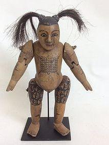 Antique Burmese Marionette
