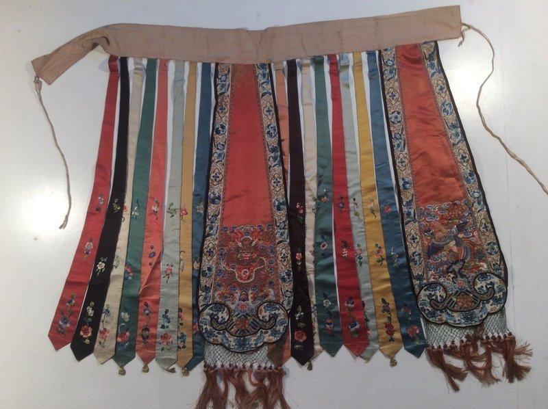 Late Qing Chinese Wedding Skirt