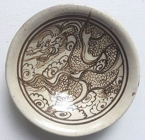 Jin Dynasty Painted Cizhou Bowl