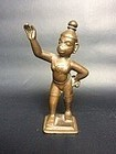 Indian Bronze Hanuman 18th Century