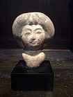 Tang Dynasty Pottery Lady's Head
