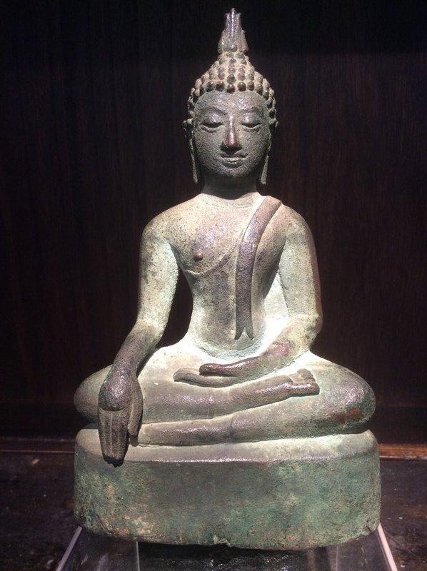 Thai Early Ayutthaya Bronze Buddha 15th/16th Century