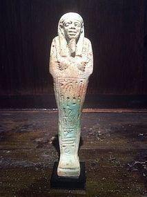 Egyptian Faïence Late Period Ushabti