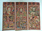 Set of 3 Yao Taoist Paintings