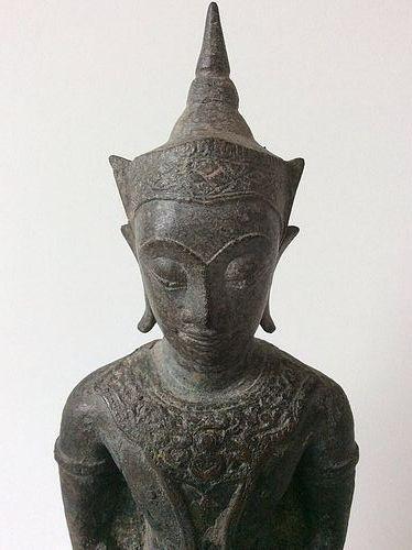 Thai Ayutthaya Bronze Buddha 17th/18th Century
