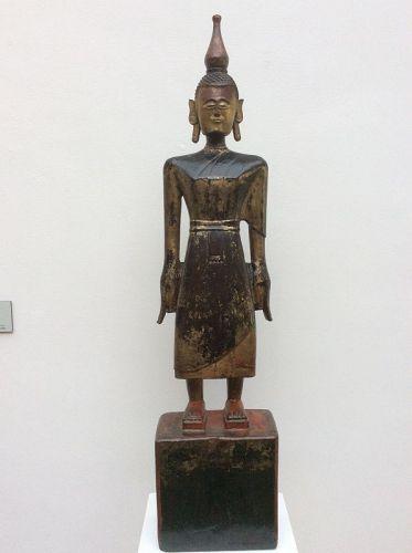 Burmese Tai Lue Standing Buddha