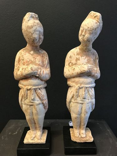 Two Tang Dynasty Chatting Men TL tested
