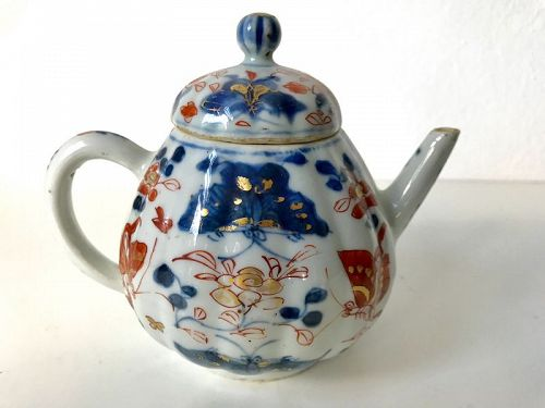 Chinese Imari Teapot Kangxi Ca. 1700