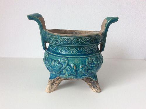 Ming Dynasty Turquoise censer