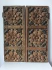 Pair of Indo-Portuguese Carved Doors Goa 17th/18th Century
