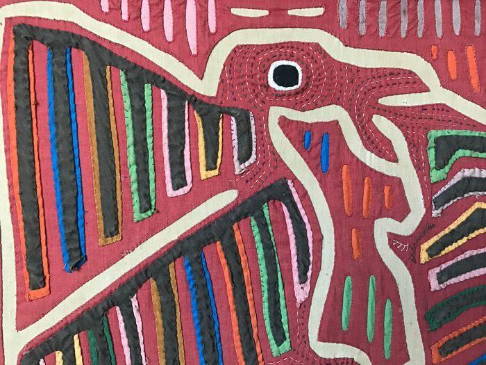 Mola Panama Kuna Indians 3rd quarter 20th Century