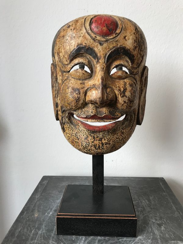 Chinese Nuo Mask 19th Century