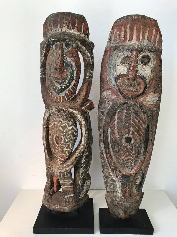 2 Ancestors, Abelam, Papua New Guinea