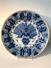 Dutch Delftware �Peacock� Charger 18th Century