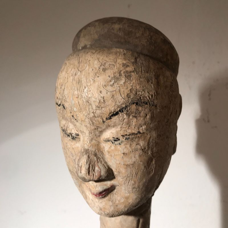 Pair of Chinese Puppet Heads