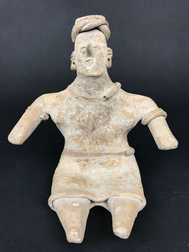 Sitting Figure, Colima Mexico (100BC-250AD)