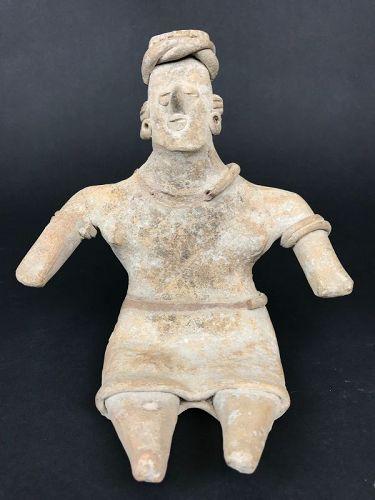 Sitting Figure, Colima Mexico (100BC-250AD)