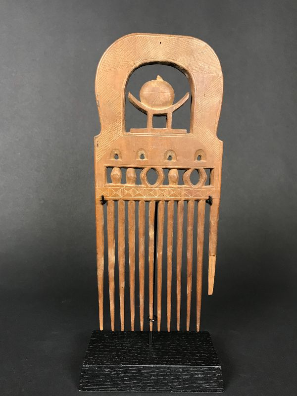 Comb, Ashanti, Ghana, Mid 20th Century