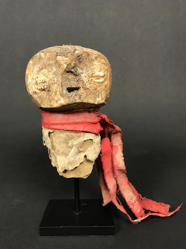 Fragmentary Fetish Figure Fon Togo