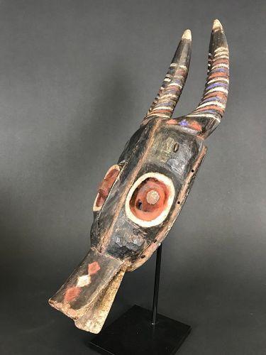 Zamble Guro Mask, Ivory Coast, ex. Lucas Ratton