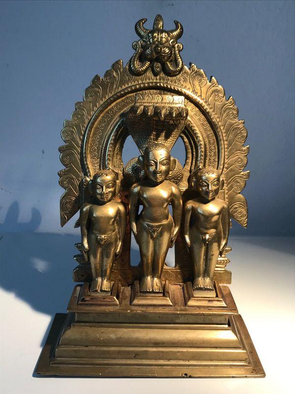 Indian Jain Bronze Altar