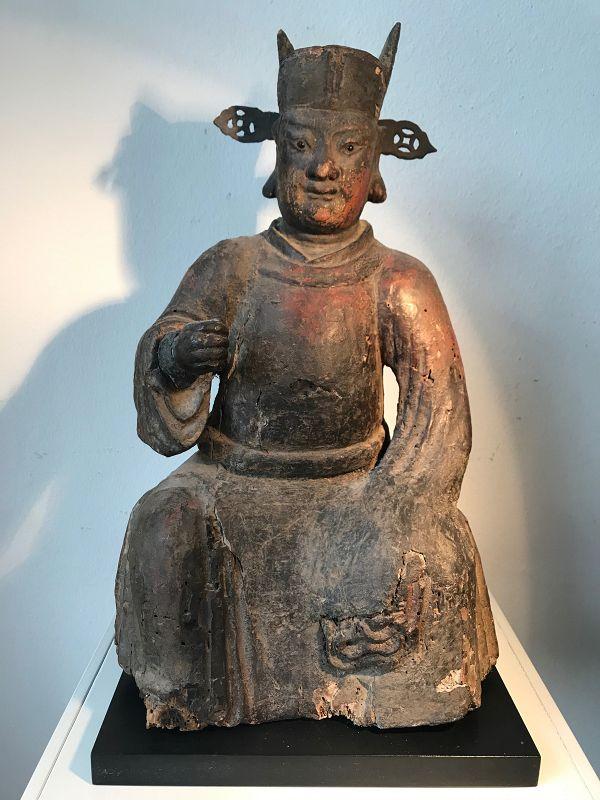 Chinese Ming Dynasty Deity
