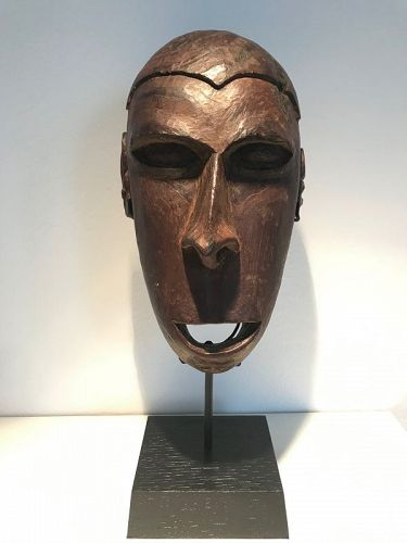 Asmat Replacement Head, Papua New Guinea