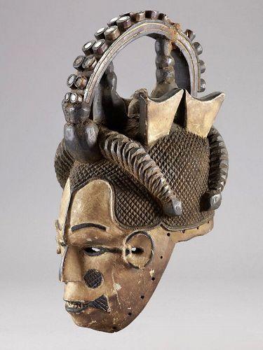 Maiden Mask, Igbo, Nigeria
