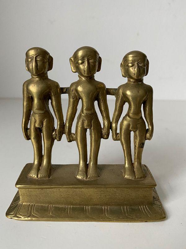 Jain Group with three Jina�s, India, 19th century.