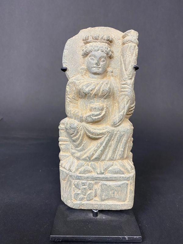 Gandhara Grey Schist Sculpture 1st-3rd Century AD