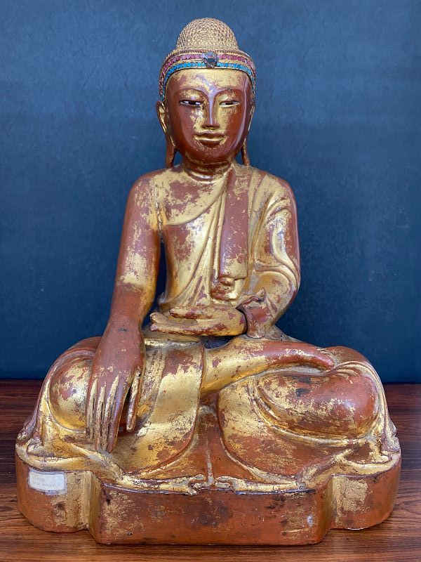Mandalay Buddha, Burma 19th century