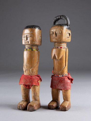 Pair of Figures, Fante, Ghana